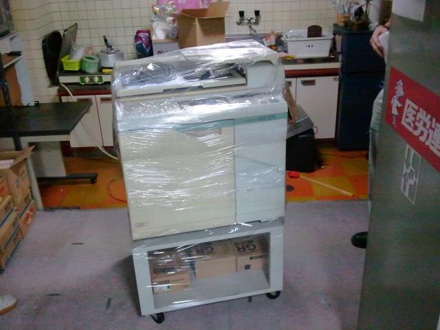 サヨナラ印刷機くん(T-T)